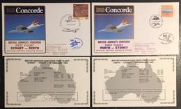 Premier Vol - Concorde - British Airways - Sydney - Perth - 1985 - Concorde