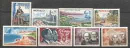 MONACO ANNEE 1966 N°697 A 701 NEUFS** MNH - Mónaco
