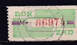 DDR, Dienst: Nr. 24 M, Gest.  (T 14789) - DDR