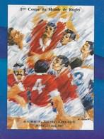 CPM  1 Ere Coupe Du Monde De Rugby Austalie,Nouvelle Zelande 20 Mai 21 Juin 1987. - Rugby