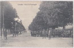 Lonato: Viale Di Passegio With Military Rare Picture/ For Seize! - Brescia