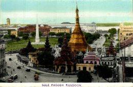 BIRMANIA // BURMA // MYANMAR. RANGOON SULE PAGODA - Myanmar (Burma)