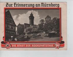 72PR/ Deutsches Reich PK Zur Erinnerung An Nürnberg Die Stadt Der Reichsparteitage C.Nürnberg 14/9/1936 > Kassel - Allemagne