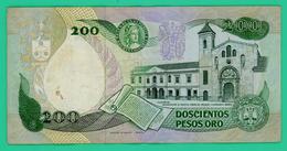 200 Pesos Oro - Colombie - 01/04/1983 - N°22020330 - TTB + - - Colombia
