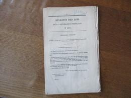 BULLETIN DES LOIS N°377 LOI QUI APPROUVE LA CONVENTION CONSULAIRE CONCLUE LE 7 JANVIER 1876 ENTRE LA FRANCE ET LA GRECE - Décrets & Lois