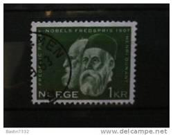 1961 Norway First Nobelprize1 Kr. Used - Gebruikt