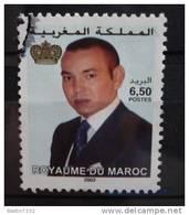 2002 Morocco King Mohammed,6,50 Used/gebruikt - Maroc (1956-...)