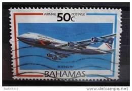 1987 Bahamas Airplane,boeing 747 Used/gebruikt - Bahamas (1973-...)