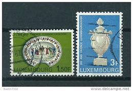 1967 Luxemburg Complete Set Art Objects Used/gebruikt/oblitere - Usados