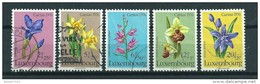 1976 Luxemburg Complete Set Caritas,flowers,fleurs,blümen Used/gebruikt/oblitere - Usados