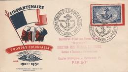 LOT 549  FRANCE F.D.C N° 889 - FDC