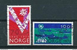 1970 Norway Complete Set Independency Used/gebruikt/oblitere - Gebruikt