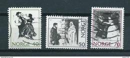 1971 Norway Complete Set Costumes Used/gebruikt/oblitere - Gebruikt