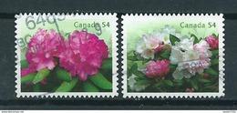 2009 Canada Complete Set Rhodondendrons Used/gebruikt/oblitere - Gebruikt