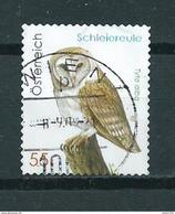 2009 Austria Eule,schleiereule,owl,uil Used/gebruikt/oblitere - 2001-10 Afgestempeld