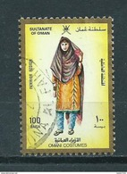 1989 Oman 100 Baisa Costumes Used/gebruikt/oblitere - Oman