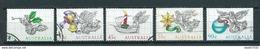 1985 Australia Complete Set Christmas,kerst,noél,weihnachten Used/gebruikt/oblitere - 1980-89 Elizabeth II