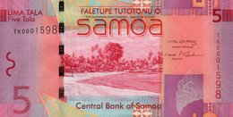 WEST SAMOA=N/D    5  TALA     Low Serial        UNC - Stati Dell'Africa Occidentale