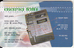 BANGLADESH(chip) - Payphone(50 Units), Chip CHT08, Used - Bangladesh