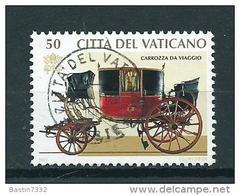 1997 Vaticaan 50L. Oldtimers,automobiles Used/gebruikt/oblitere - Gebruikt