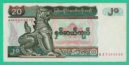 20 Kyats -  Birmanie - N° BZ7303519 - 1994 - TTB + - - Myanmar