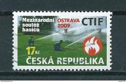 2009 Czech Republic Brandweer,fireman,feuerwehr Used/gebruikt/oblitere - Repubblica Ceca