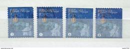 2012 Belgium Complete Set Christmas,kerst,noël,weihnachten Booklet Stamps Used/gebruikt/oblitere - Used Stamps