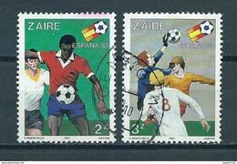 1981 Zaire Football,soccer,voetbal  Used/gebruikt/oblitere - Zaïre