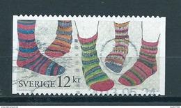 2011 Sweden Socks Used/gebruikt/oblitere - Suecia