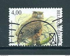 2004 Belgium Eule,owl,uil,oehoe,4,00 EURO Used/gebruikt/oblitere - Belgien