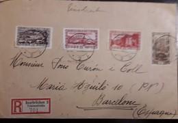 O) 1927 GERMANY - SAARBRUCKEN - SAAR, PLEBISCITE ISSUE - VOLKSABSTIMMUNG - VIEW OF SAAR VALLEY - SAARLOUIS FORTIFICATION - Germany