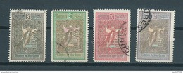 1906 Romania Complete Set Wohlfahrt Used/gebruikt/oblitere - 1881-1918: Charles I