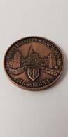"Médaille En Bronze - ""CORPS EUROPEEN - STRASBOURG - EUROKORPS - Médailles & Décorations"