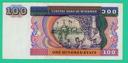 100 Kyats -  Birmanie - N° CE6518978  - Sup - - Myanmar