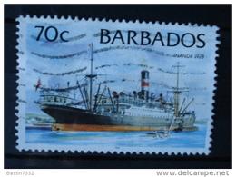 1998 Barbados Ships,boat,scheepvaart 1998 Issue Used/gebruikt/oblitere - Barbades (1966-...)