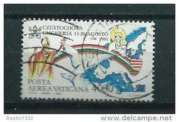 1992 Vaticaan Pope World Travel 4000L. Used/gebruikt/oblitere - Gebruikt