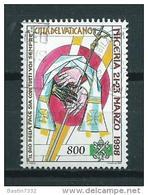 1999 Vaticaan Pope World Travels 800L. Used/gebruikt/oblitere - Gebruikt