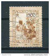 1998 Vaticaan 1300L. Pope World Travel Used/gebruikt/oblitere - Gebruikt
