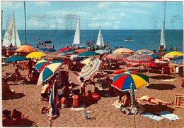 Tarquinia Lido (Vt). Spiaggia. VG. - Viterbo