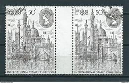 1980 England London Stamp Expo Used/gebruikt/oblitere - 1952-.... (Elizabeth II)