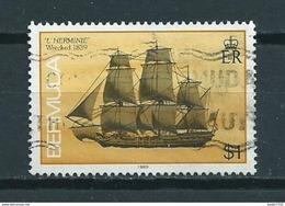 1989 Bermuda Ship,boat Used/gebruikt/oblitere - Bermuda