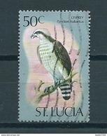 1976 Saint Lucia Birds,oiseaux,vögel 50 Cent Used/gebruikt/oblitere - St.Lucie (1979-...)