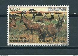 1982 Zaïre Antilopes Used/gebruikt/oblitere - Zaïre