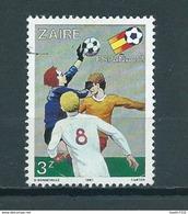 1981 Zaïre Football,voetbal,soccer Used/gebruikt/oblitere - Zaïre