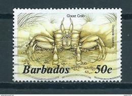 1985 Barbados Sealife Used/gebruikt/oblitere - Barbades (1966-...)