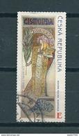 2010 Czech Republic A.Mucha Used/gebruikt/oblitere - Gebruikt