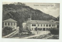GEMONIO - RAFFINERIA DI RISO - CURTI  1913 VIAGGIATA FP - Varese