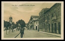 VILA REAL - Avenida Carvalho D'Araújo. ( Ed.Ourivesaria Soares/ Cliché M. Monteiro) Carte Postale - Vila Real