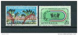 1962 Australia Complete Set Commonwealth Used/gebruikt/oblitere - Gebruikt