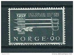 1967 Norway Militairy Academy Used/gebruikt/oblitere - Gebruikt